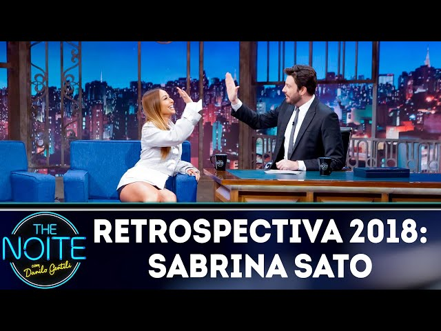 Retrospectiva 2018: Sabrina Sato   The Noite (21/02/19)