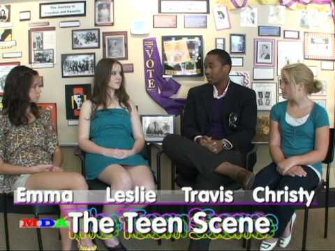 The Teen Scene with Leslie Weber today's guest Travis Brown.mpg