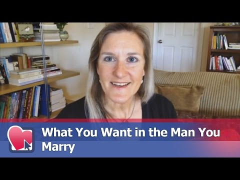 What You Want in the Man You Marry - by Claire Casey (for Digital Romance TV)