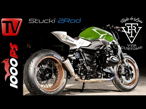 "BMW R 1200 R Umbau inkl. Soundcheck - ""Goodwood 12"" by VTR Customs - Stucki 2Rad"