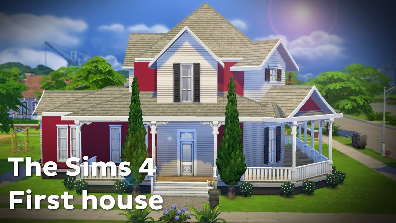 The Sims 4: House Building   Contemporary Family   YouTube