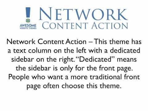 Network Themes for WordPress Intro Video