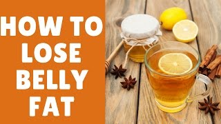 How To Lose Belly Fat Fast in 1 Week | Fat Cutter Drink For Extreme Weight Loss