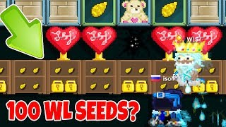 GrowTopia - MODS CAN'T FIX THIS GLITCH!! (World Lock Seeds??)