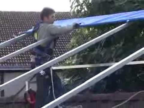 présentation et montage le toit du couvreur - youtube