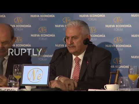 Spain: 'Europe cannot exclude Russia' - Turkish PM Yildirim