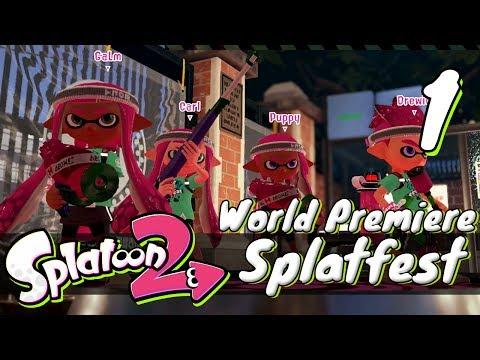 [1] Splatoon 2 Splatfest World Premiere w/ GaLm and Tom