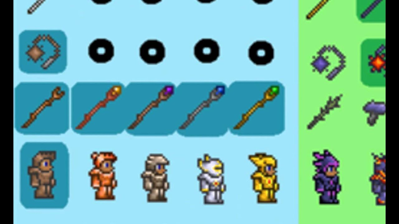 terraria how to add items
