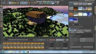 Туториал! Как импортировать мир из Minecraft  в Cinema 4D(В этом туториале по Cinema 4D я покажу как импортировать мир (карту) из minecraft в Cinema 4D, а так же как текстурировать..., 2013-01-27T15:13:45.000Z)