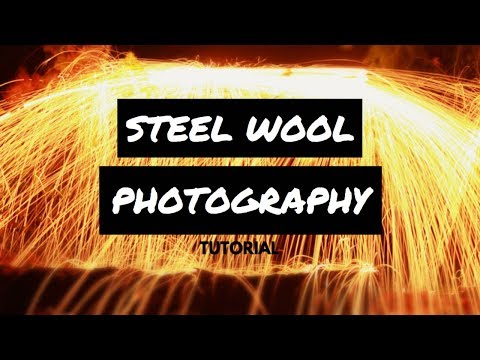 Easy Steel Wool Photography Tutorial