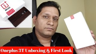 Hindi | Oneplus 3T Unboxing & First Look | Sharmaji Technical