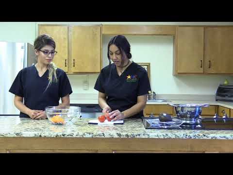 RHN WIC Cooking Class: Black Bean and Avocado Salad