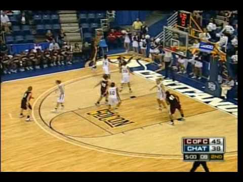 Part 2 - College of Charleston Womens Basketball 2009 Southern Conference Tournament Highlight Video