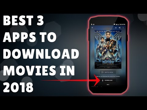Top 3 Best MOVIES Downloading Apps In 2018