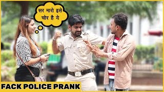 Fake Police Prank On Cute Girls Ft. The Hungama  Films| Funky Joker
