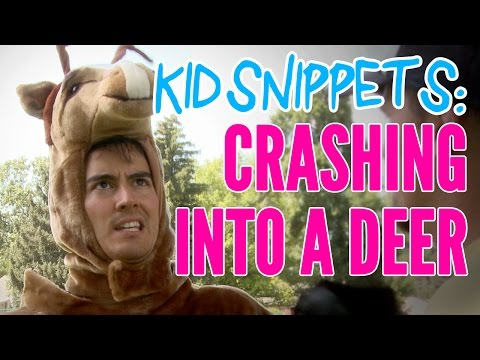 """Kid Snippets: """"Crashing Into A Deer"""" (Imagined by Kids)"""