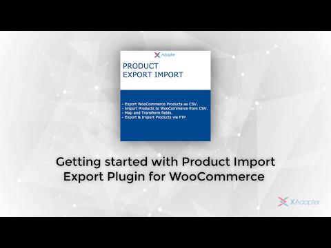 Product Import Export for WooCommerce – WordPress plugin