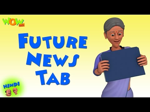 Future News Tab - Motu Patlu in Hindi WITH ENGLISH, SPANISH & FRENCH SUBTITLES