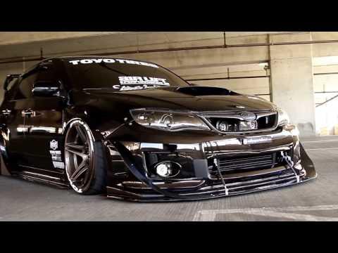 Супер мега лучший тюнинг Slammed Subaru WRX Sti¦ Brandon Kone ¦ Strafe Design ¦ Airlift Performance