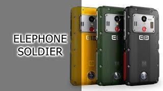 ЗНАКОМСТВО | Elephone Soldier - IP68, NFC, 21 МП камера за $180