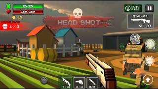 Pixel Z Gunner - Mobile Fps game