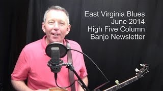 East Virginia Blues: up-the-neck break