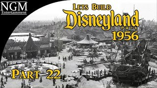 Lets Build DISNEYLAND 1956 Part 22 | Fantasyland ~ Snow White and her Adventures!!