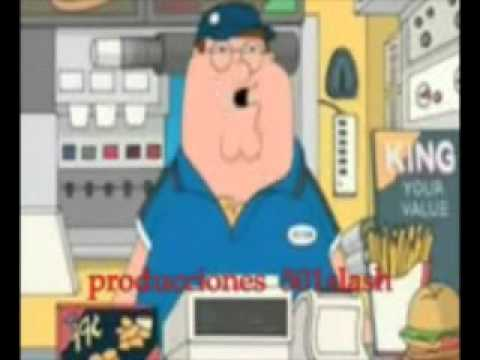 peter griffin retarded burger king