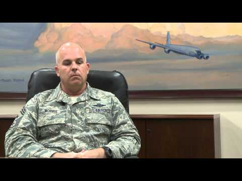 Command Chief Master Sergeant Michael Morris Interview