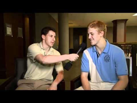 Dougie Hamilton interviews Strome at NHL combine