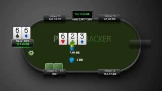 Школа покера в картинках № 142 (Пробуем добрать, если доска чаще не подходит оппоненту).(, 2016-09-28T15:34:34.000Z)
