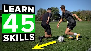 LEARN 45 AWESOME SKILLS | 1 hour of tutorials