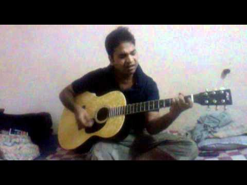 Abhijeet ki tanhai guitar ke saat.....me guitaring video.