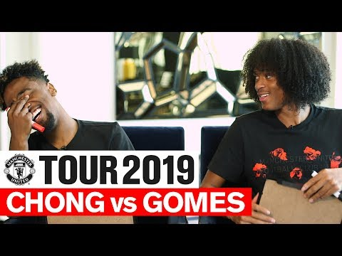 Manchester United   Tour 2019   Chong Vs Gomes   One On One   Player Challenge