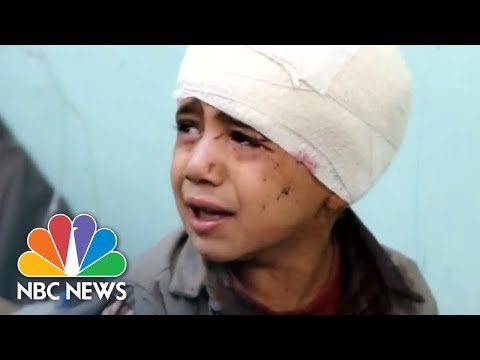 Saudi-Led Airstrike Kills Dozens, Including Children, In Yemen | NBC News