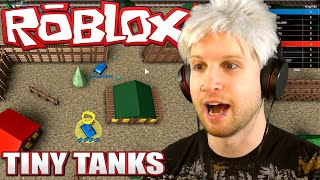 Scythe Plays Roblox ✪ TINY TANK WAR!!