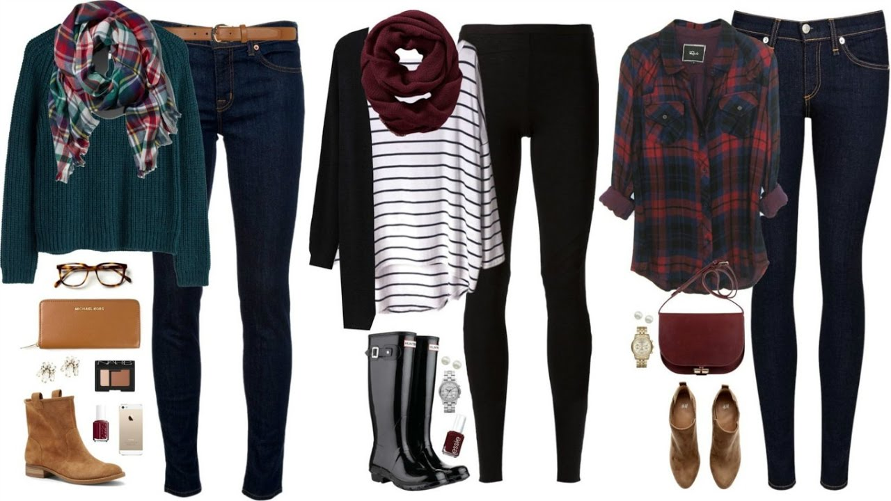 OUTFITS OTOÑO INVIERNO 2016 2017