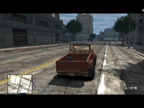 شرح تحويل لعبة GTA IV إلى GTA V برابط واحد على ميديافاير