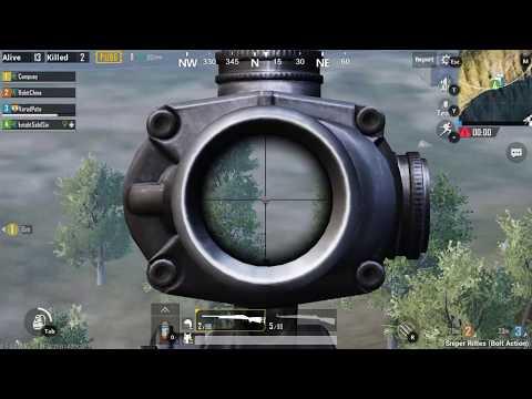 PUBG MOBILE : ARCADE MODE: sniper training