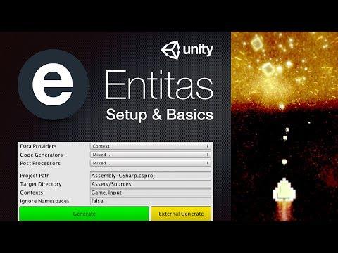 Entitas ECS Unity Tutorial - Setup & Basics