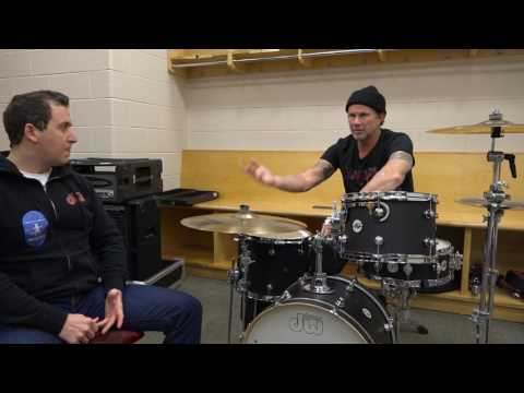 Nick Ruffini interviews drummer Chad Smith from Red Hot Chili Peppers.