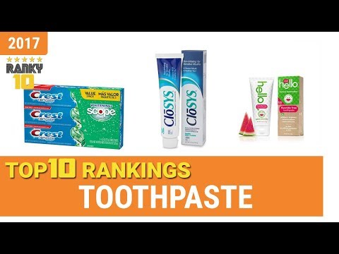 Toothpaste Top 10 Rankings, Reviews 2017 & Buying Guides