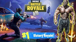 FORTNITE: BATTLE ROYALE - THE GRIND IS REAL | Kali Muscle