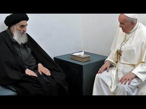 النجف تستعد لـ-لقاء تاريخي- بين البابا فرنسيس والمرجع الشيعي الأعلى علي السيستاني  - نشر قبل 6 ساعة
