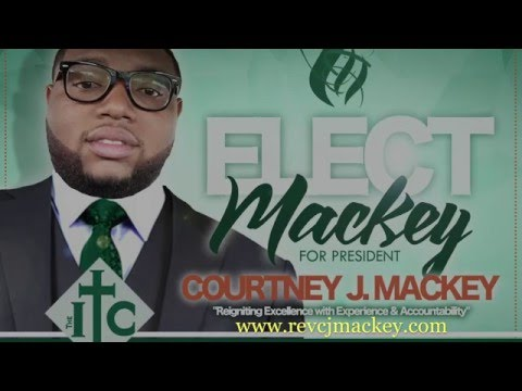 Courtney J  Mackey-Candidate for Student Christian League