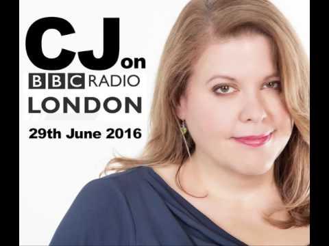CJ on BBC Radio London - 29th June 2016