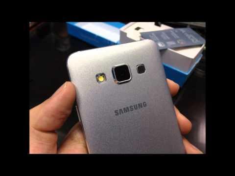 Samsung GALAXY A3 platinum silver color SM-A300F/DS