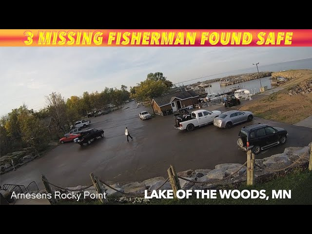 3 Missing Fisherman Found Safe On Lake Of The Woods Thursday Morning