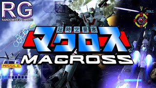 Macross - PlayStation 2 - Intro and missions 1 & 7 gameplay [720p 60fps]