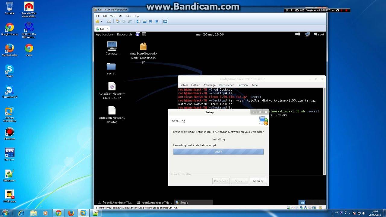 autoscan linux
